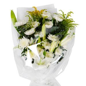 국화 꽃다발 (조문/추도)